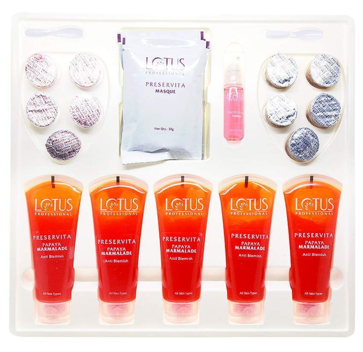 Lotus Professional Preservita Advanced Anti-Blemish Facial Papaya Marmalade #LotusHerbals