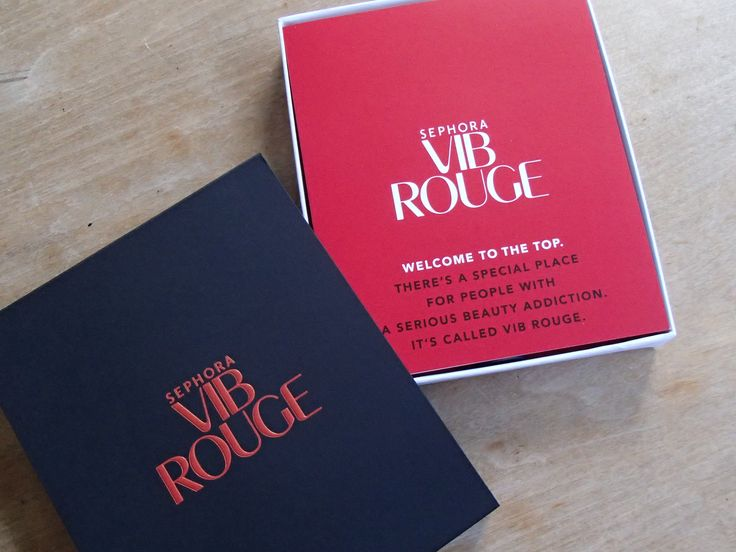 VIB Rouge Welcome Kit Whats In The Box Plus A Small Haul