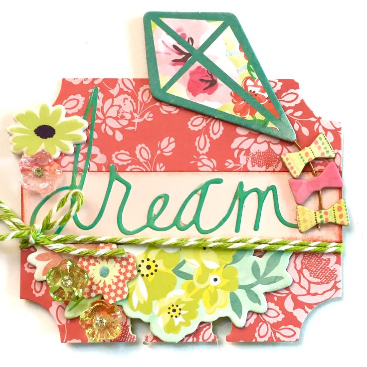 Flowers Kites & Dreams Rolodex Memorydex Card by Jackie Benedict