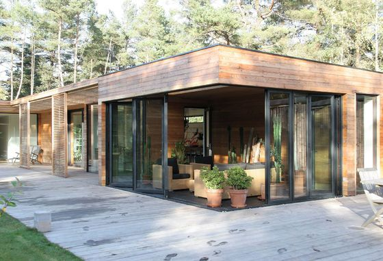 Casa Bergman-Werntoft   – garten & terasse