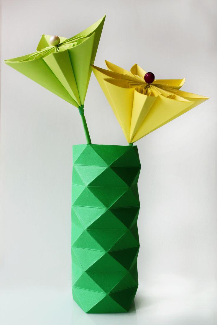pretty origami flowers