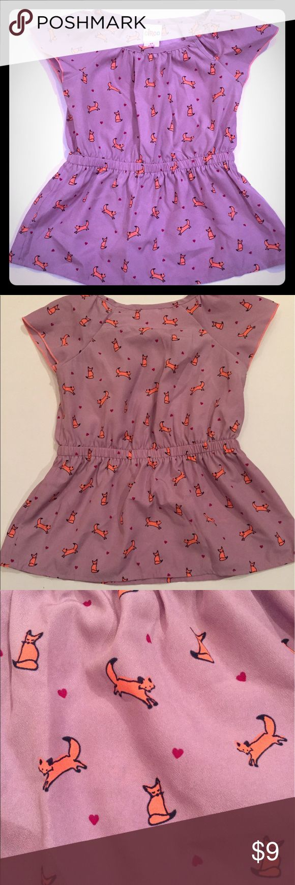 2T Purple Fox top 2T Purple Fox top in excellent condition. From a smoke free and pet free home. Circo Shirts & Tops Blouses