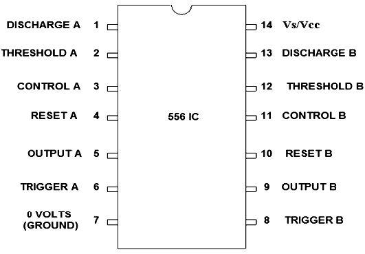 556 timer  u2013 pin description  features  u0026 applications