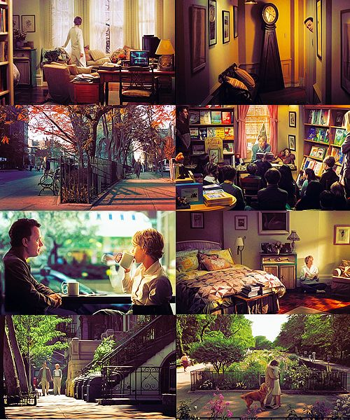 I would personally just like to live inside the set of You've Got Mail... that'd be awesome