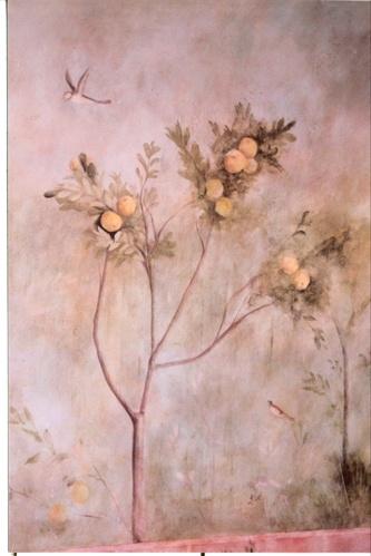 Wild Garden Mural detail
