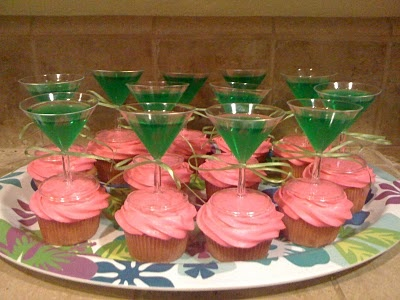 cute idea for cupcakes for Girls Night In