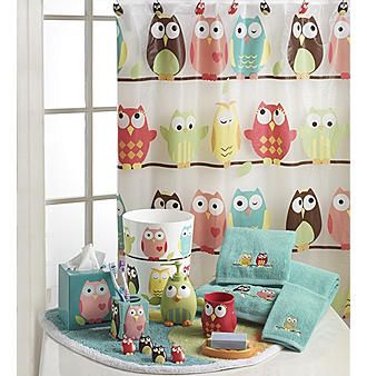 Best Bathroom Images On Pinterest Bathroom Ideas Kid - Owl bathroom decor set for small bathroom ideas