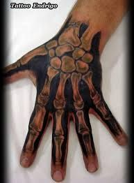 Best Skeleton Hand Tattoo