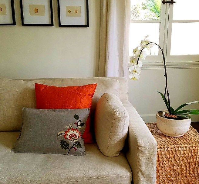 Placemat Pillow DIY | Eclectic Girl Lifestyle Designs
