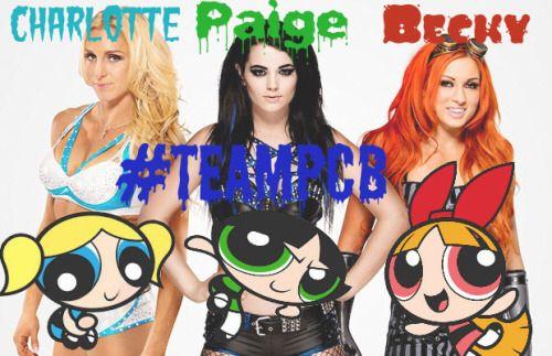 WWE Divas and PPG