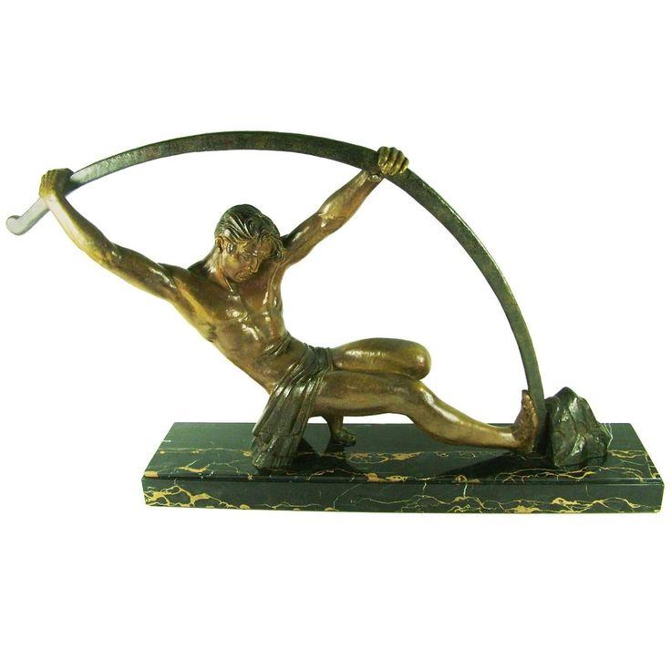 Les 80 meilleures images du tableau art deco statues men sur pinterest art d co art - Statue deco moderne ...