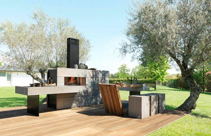 """""""Gioielli"""" da giardino per cucinare all'aperto, dallo stile ricercato e dotati dei più avanzati sistemi di ..."""