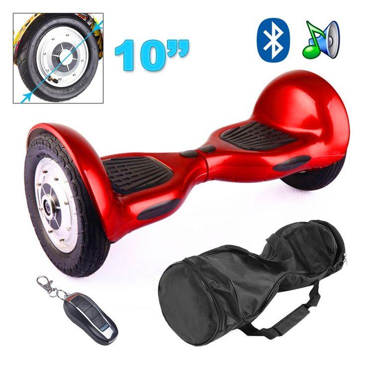 Arpentez les rues de votre ville d'une nouvelle manière avec cet hoverboard 10 pouces. vous pourrez vous déplacer sur ce skate électrique et à une vitesse de 15 km/h ! Egalement livré avec un sac de transport, cet hoverboard vous suivra partout ! Autonomie : 20 - 30 km. Couleur : Rouge. Motif : Flamme