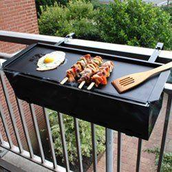 Barbacoa de Balcon | BBQ Grill: Amazon.es: Hogar