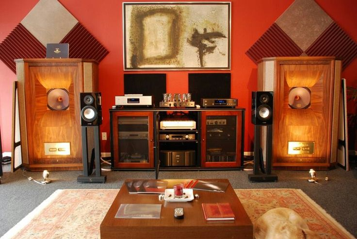 Listening Room with Tannoy Westminster Royal SE 1 390 200 ...