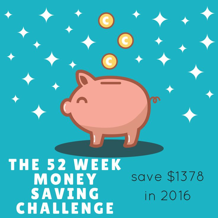 The 52 WEEK MONEY SAVING CHALLENGE is an easy way to boost the budget and save $1378 in one year http://bargainmums.com.au/52-week-money-saving-challenge