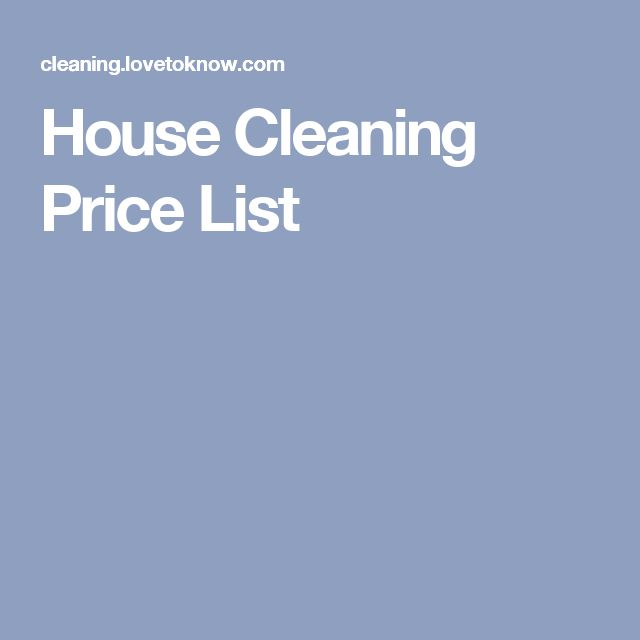 best 25 house cleaning prices ideas on pinterest