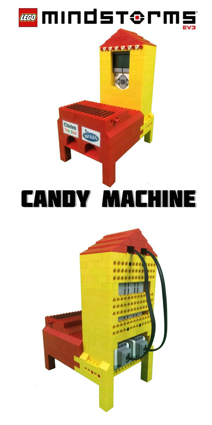 LEGO Mindstorms Candy Machine #toys #EV3 #robotics