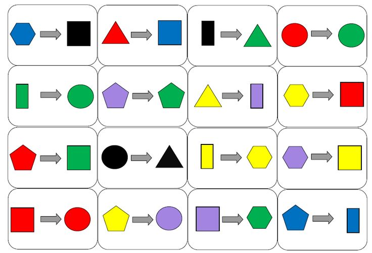 Thema Kleuren Vormen on Geometri Shapes English