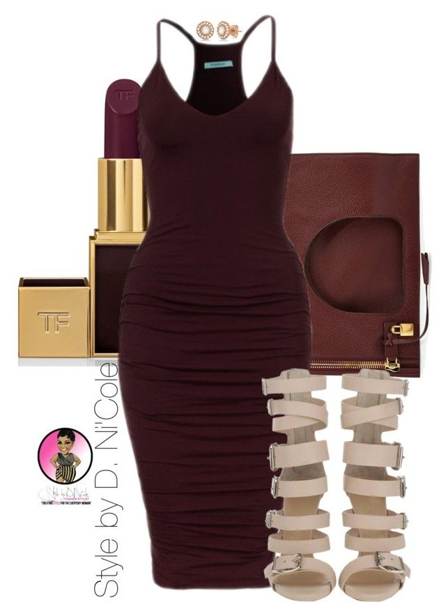 Untitled #2409 by stylebydnicole on Polyvore featuring polyvore, fashion, style, Tom Ford and Allurez