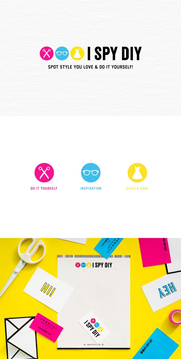 161 best bright happy branding images on pinterest graphics i spy diy branding by fuze branding solutioingenieria Images