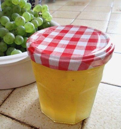 #gelée de #raisin blanc : une recette d'automne #confiture