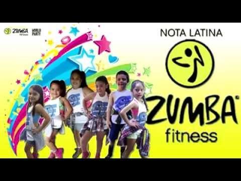 (2849) LA BICICLETA - ZUMBA FITNESS - JONATHAN RODRIGUEZ - KIDS- NOTA LATINA - YouTube