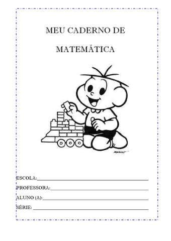 MEU CADERNO DE MATEMÁTICA