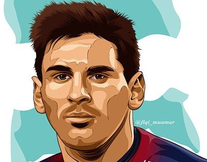 """fan art lionel messi vector vexel cartoon realictic"" >>> http://be.net/gallery/38311253/fan-art-lionel-messi-cartoon-realictic"