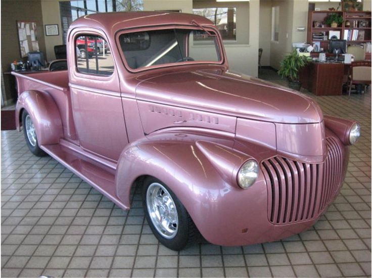 1941 Pink Chevrolet http://www.iseecars.com/Car_Listing/697622904/1941_Chevrolet_Other_Models_ROSEVILLE_CA.html