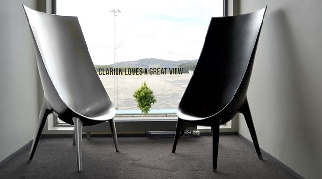 Clarion Loves A Great View - At Hotell Flesland - Clarion Hotel #Bergen Airport