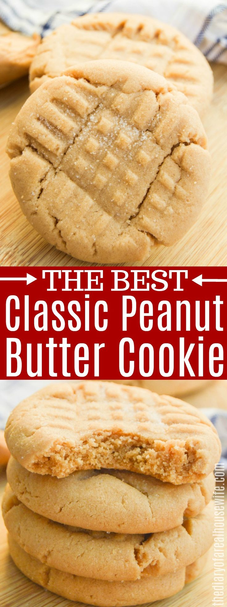 Classic Peanut Butter Cookie – The Diary of a Real…