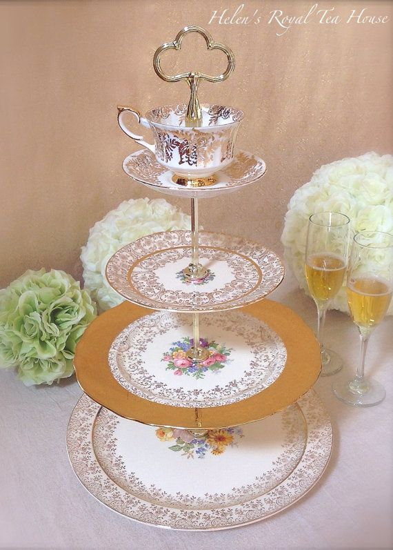 Tier Wedding Cake Stand Vintage