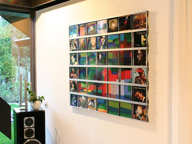 Cover art into wall art