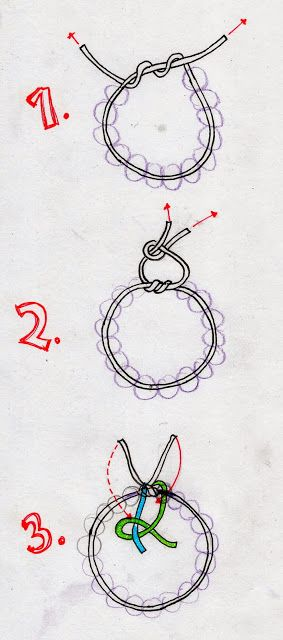 How to knot / tie / make a Stretch Bracelet