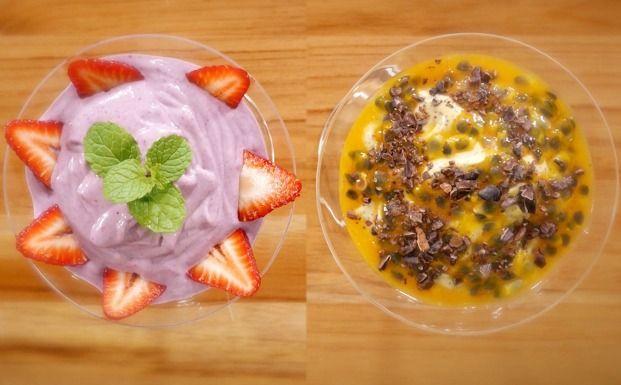 A chef Tati Lund, do Comida.org, ensina a receita de duas mousses veganas super fáceis de fazer.