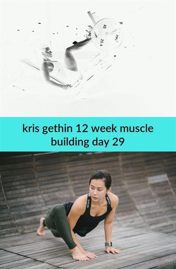 kris gethin 12 week #muscle building day
