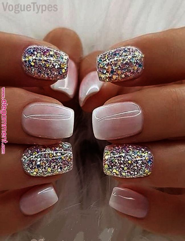 Home Blend Of Bites Nail Designs Glitter Fancy Nails Toe Nails