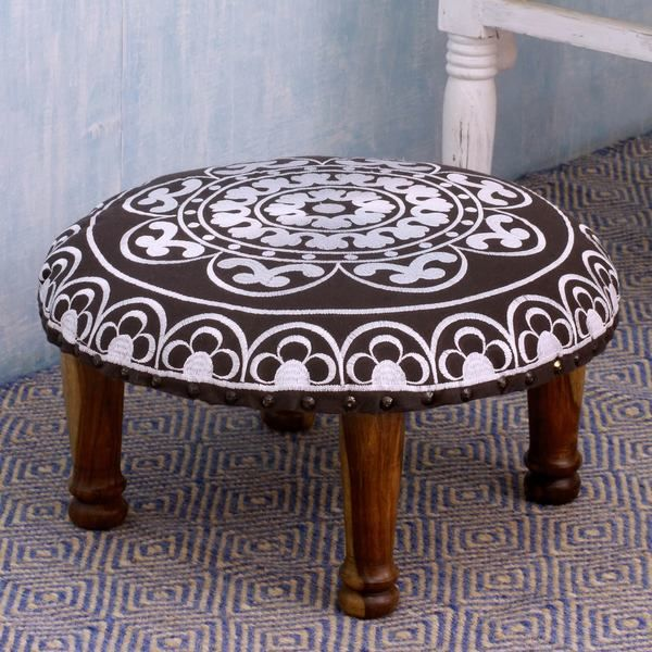 22 Best Small Footstool Images On Pinterest Ottomans