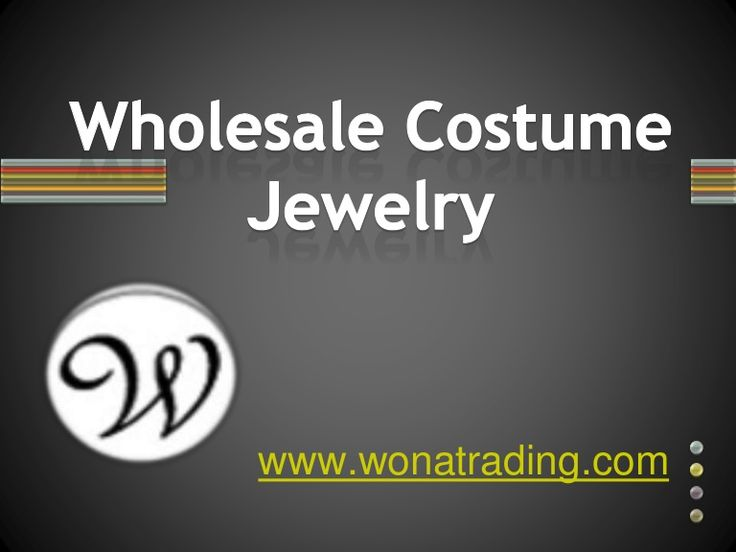 Why waste time looking for wholesale costume jewelry and fashion necklaces everywhere in the market when you can get the best of the lot right here at http://www.wonatrading.com/