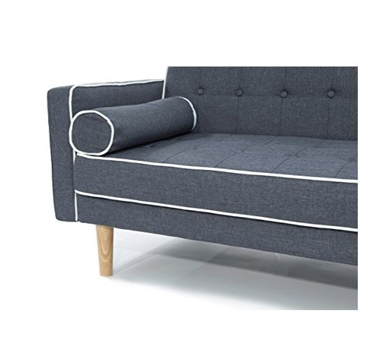 Midcentury Modern Sofa Bed by Divano Roma Furniture