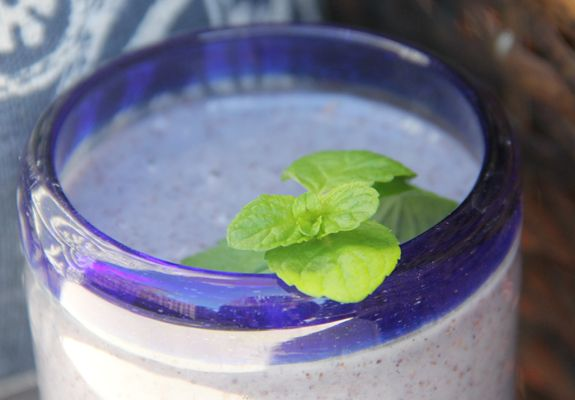 Pineapple Blueberry Smoothie | Smoothies & Shakes | Pinterest