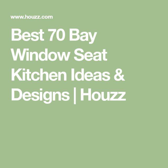 Best 70 Bay Window Seat Kitchen Ideas & Designs | Houzz