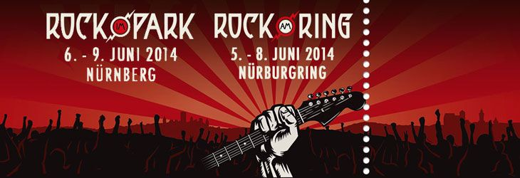 2014 kommen Rock Festival Fans wieder voll auf ihre Kosten, denn Rock am Ring und Rock im Park trumpfen ebenfalls 2014 wieder mit vielen, interessanten Bands auf. Am legendären Festivalgelände des Nürburgrings und auf dem Zeppelinfeld in Nürnberg selbst herrscht vom 5. -9. Juni 2014 wieder Hochstimmung, denn schon jetzt haben sich bereits 40 bekann...