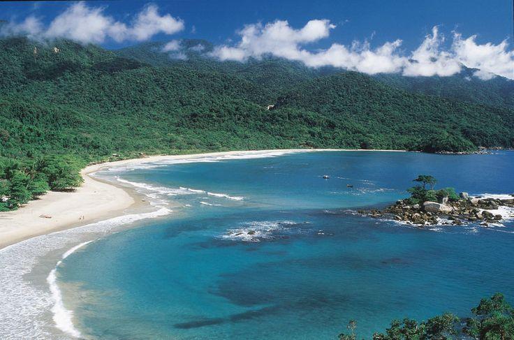 Praia dos Castelhanos, em Ilhabela (SP)