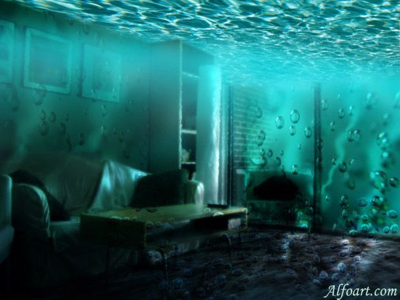 Water Themed Room | Adobe Photshop Tuetorials In Pdf Files   Page 5