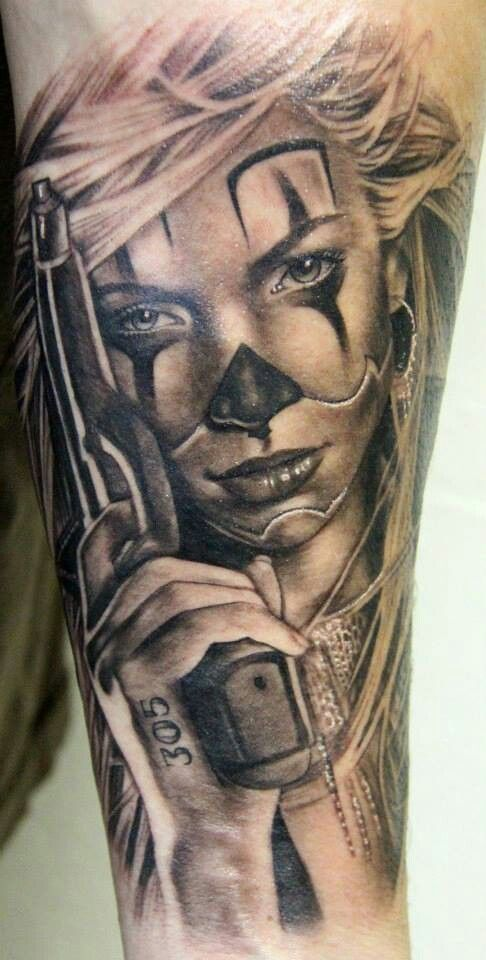 Tatu Baby from Ink Master. Really like her stuff.