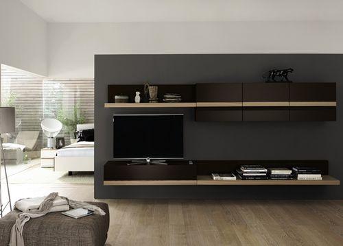 Contemporary TV wall unit SIMIA hülsta