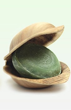 Ojas Fairtrade soap in eco packaging