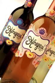 Hungarian Wine.. gotta love the bottles!